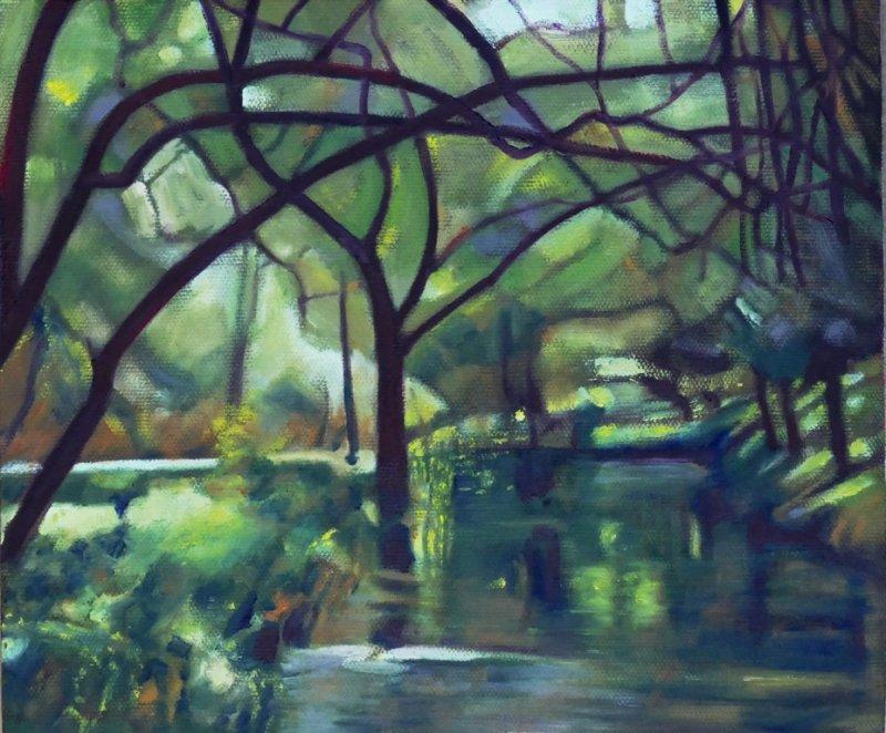 River at  La Cabrera