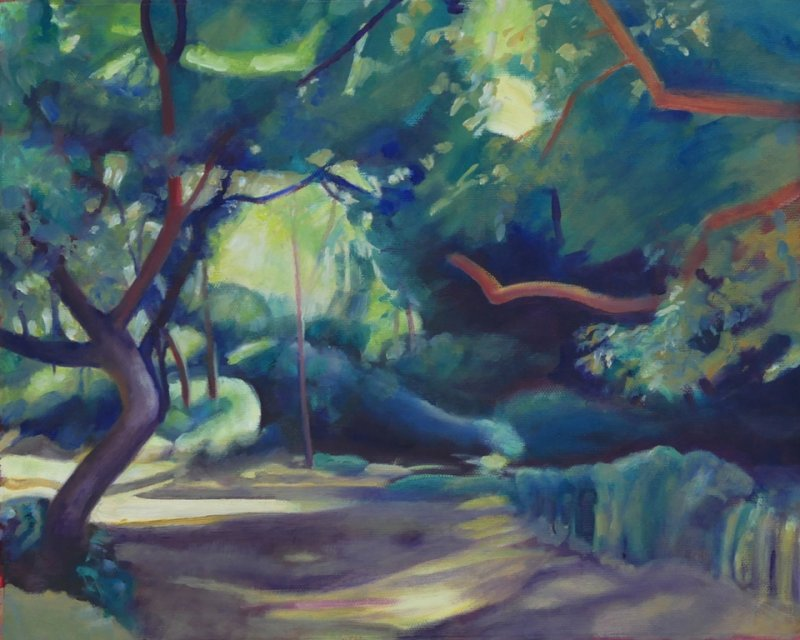Walnut Tree by the river