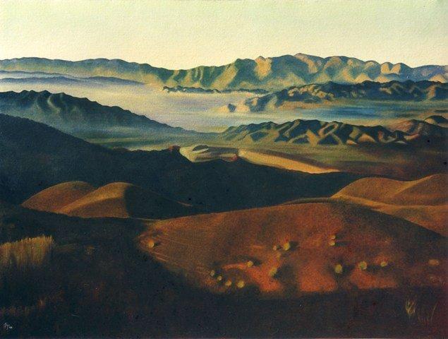 View to Tabernas. Andalucia