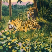 Tigers at Lunch