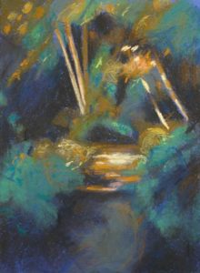 pastel study in the Wildgarden at Shipton